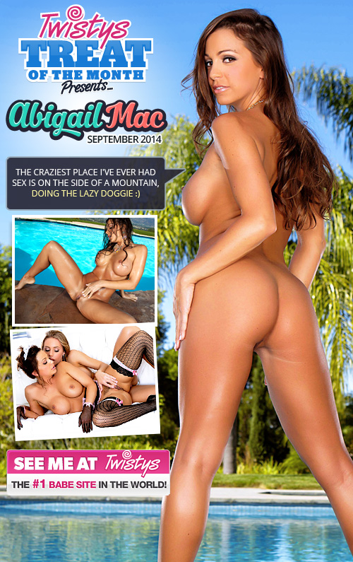 Abigail Mac the Twistys Treat of the Month for September 2014